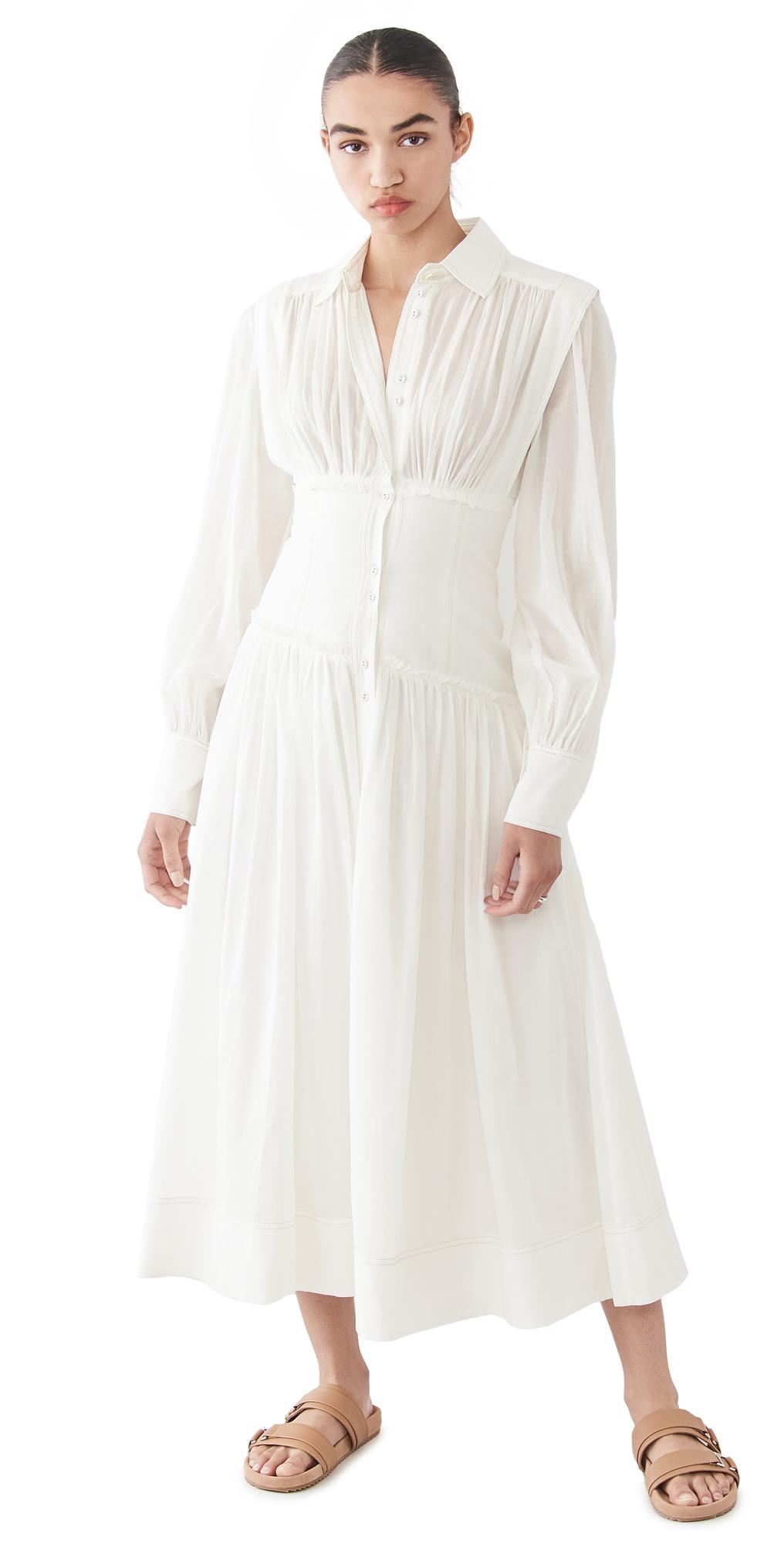 Aje Utopia Long Sleeve Dress
