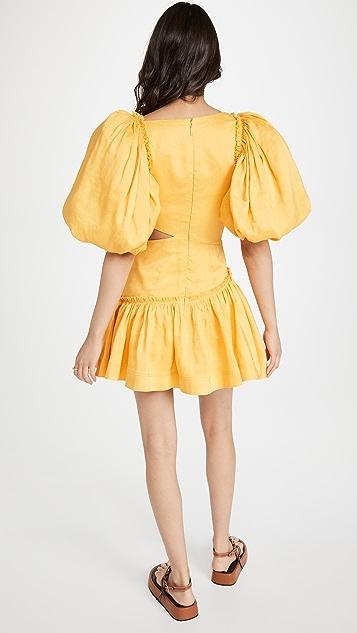 Aje Chateau Mini Dress