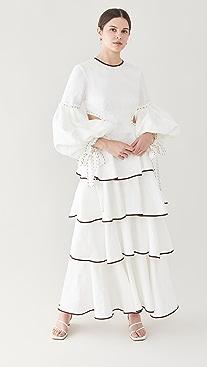 Aje Gracious Cutout Dress