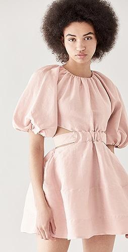 Aje - Psychedelia Cut Out Mini Dress