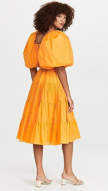 Aje Cherished Midi Dress