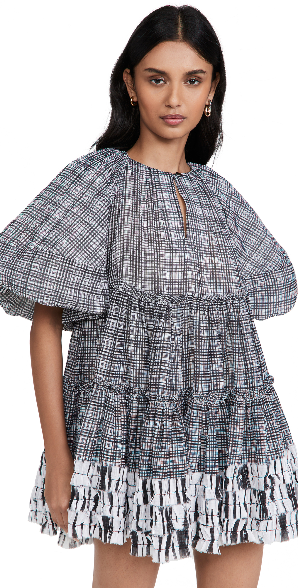 Memento Smock Mini Dress