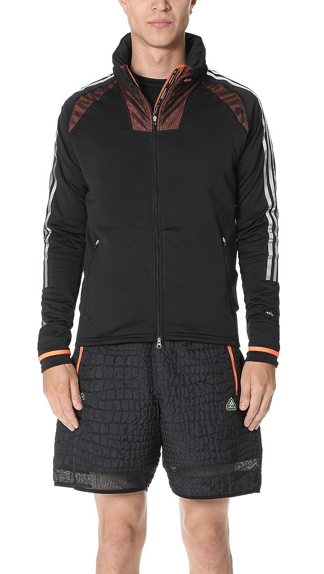 x kolor black climaheat zip hoodie authentic 03a239b9ecdc