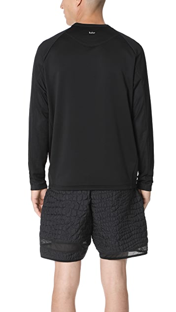Adidas by Kolor Hybrid Crew Sweatshirt