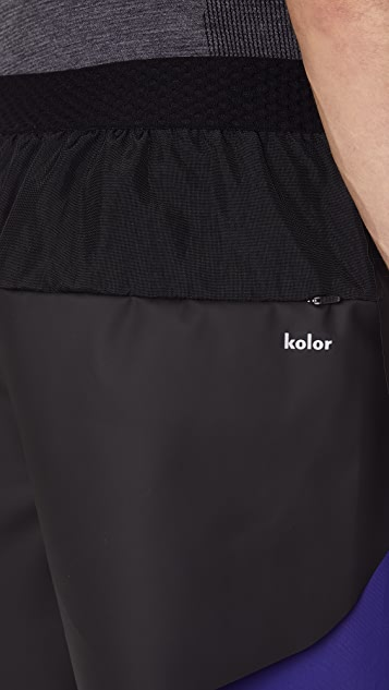 Adidas by Kolor Coated Shorts
