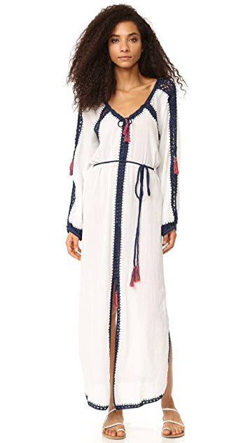 Anna Kosturova Sailor Nomad Boho Maxi Dress