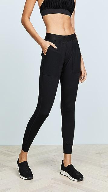 Trace Jersey Pants by Alala