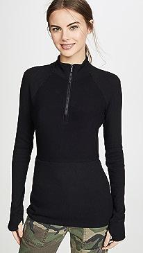 Rise Quarter Zip Sweater