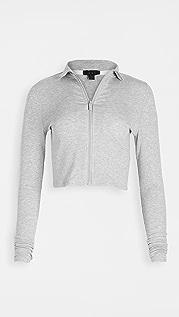 ALALA Rise Zip Up Sweater