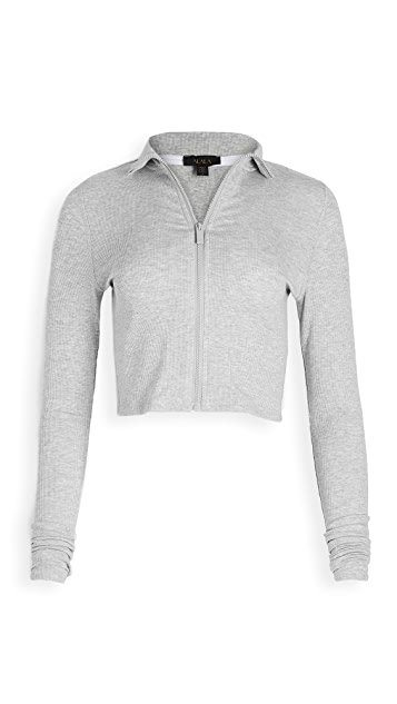 ALALA Rise Zip Up Sweater