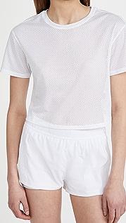 ALALA 背面绑带短款 T 恤
