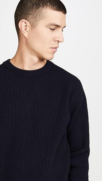 Albam Ribbed Crew Neck Sweater