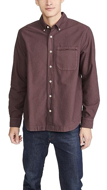 Albam Vintage Button Down Oxford Shirt