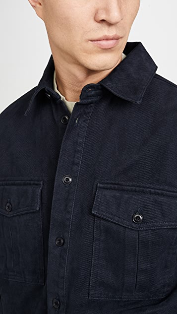 Albam Drill Army Double Pocket Shirt
