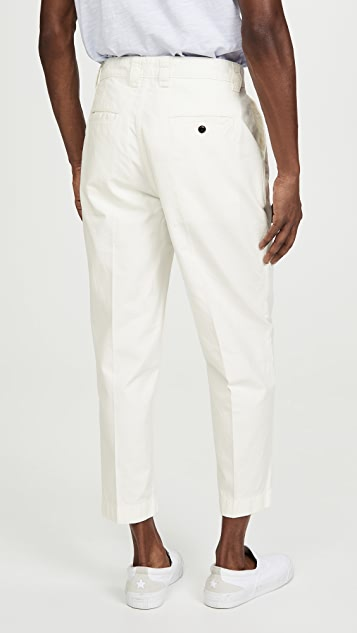 Albam GD Ripstop Pleated Trousers