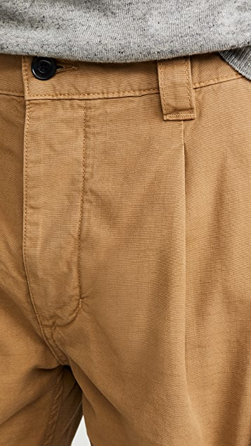 Albam GD Ripstop Pleated Shorts