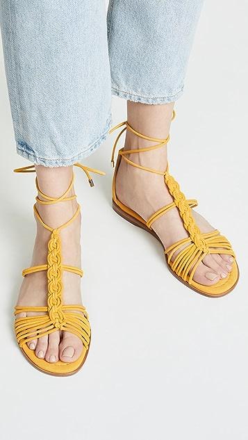 Alexandre Birman Roly 平底凉鞋