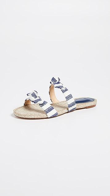 Alexandre Birman Clarita Braided Slide Sandals
