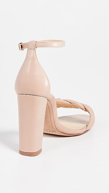 Alexandre Birman Chiara 90mm Block Sandals