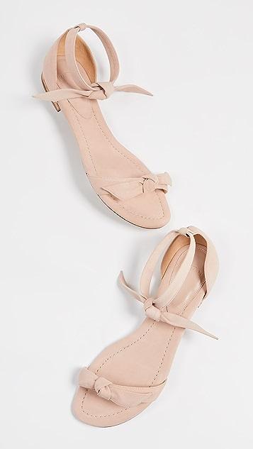 Alexandre Birman Clarita Amalfi Flat Sandals