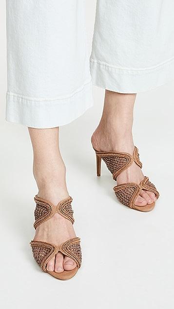 Alexandre Birman 75mm Amanda 穆勒鞋