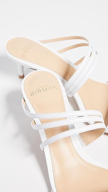 Alexandre Birman 绑带新颖猫跟凉鞋