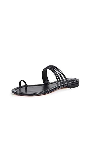 Alexandre Birman Strappy Flat Sandals