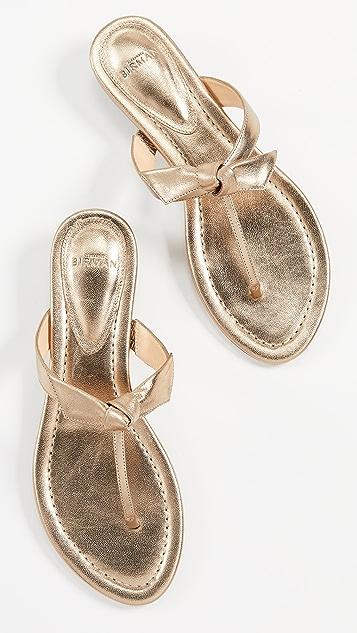 Alexandre Birman Clarita Naked Flat Sandals