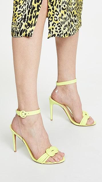Alexandre Birman Виниловые сандалии 100мм Vicky