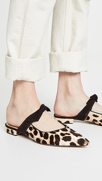 Alexandre Birman Clarita Mule Ballerina Pony Flats