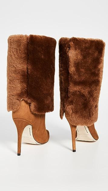 Alexandre Birman Shearling Boots