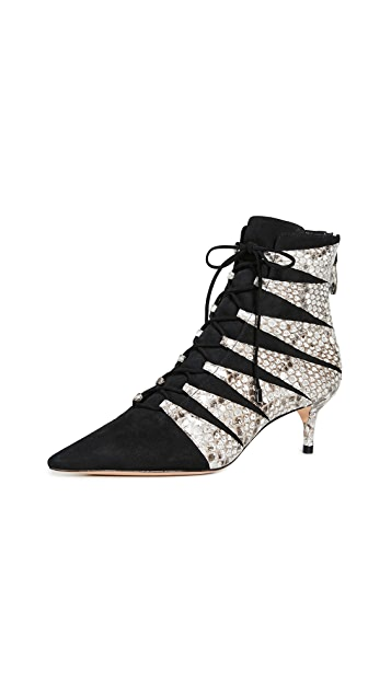 Alexandre Birman Becca Kitten Booties