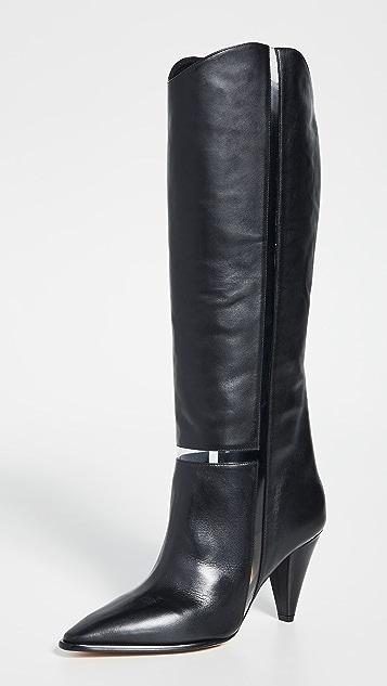 Alexandre Birman Dora 90mm Boots