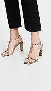 Alexandre Birman Lally Exotic Sandals 85mm