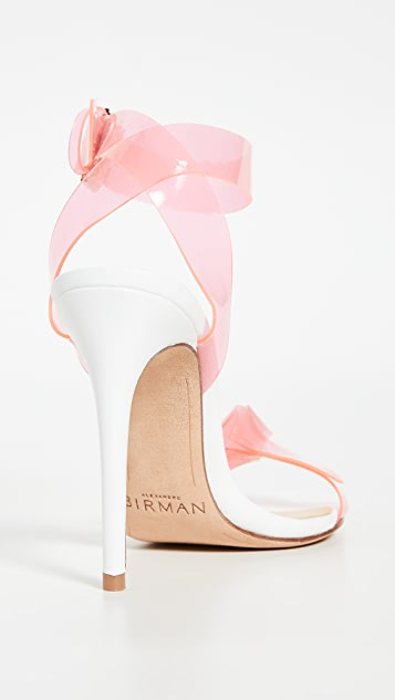 Alexandre Birman Clarita PVC Sandals 100mm