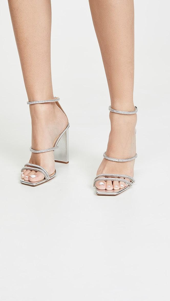 Alexandre Birman Lacy Zircone Sandals