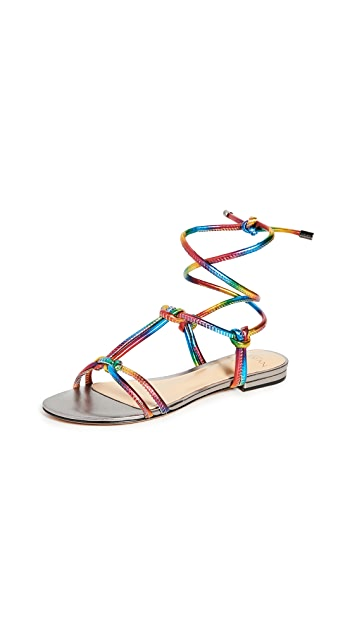 Alexandre Birman Rebecca Flat Sandals