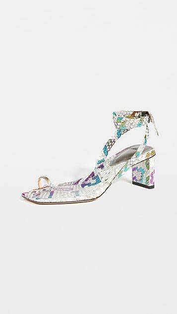 Alexandre Birman Katie Exotic Sandals
