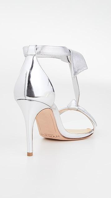 Alexandre Birman Clarita 金属色凉鞋 85mm