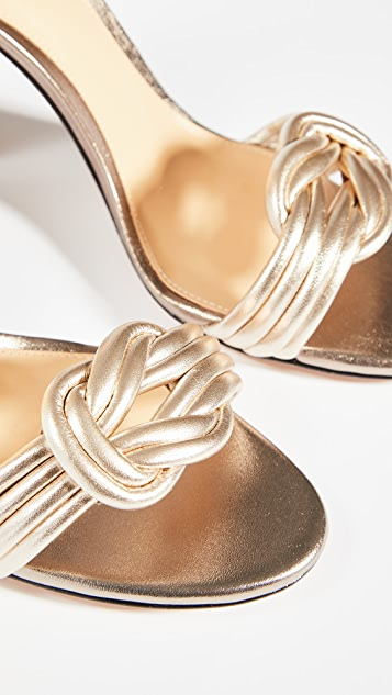 Alexandre Birman Chiara 90mm 粗跟凉鞋
