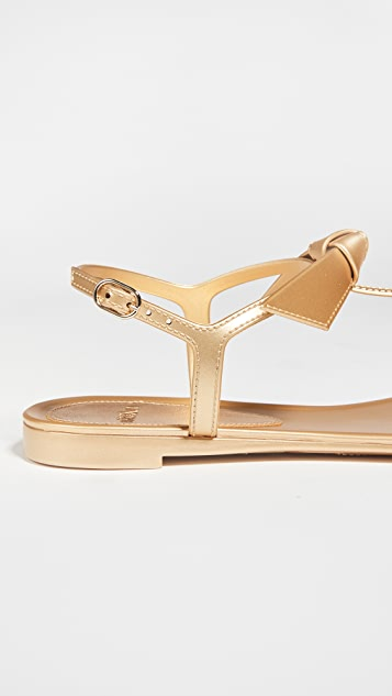 Alexandre Birman Clarita Jelly Metallic Sandals
