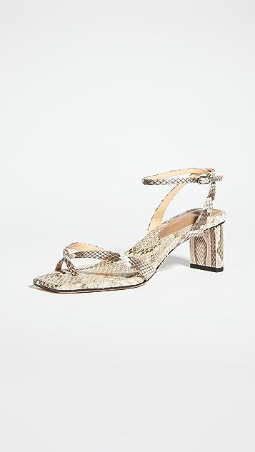 Alexandre Birman Nelly 50 方形异域风格凉鞋