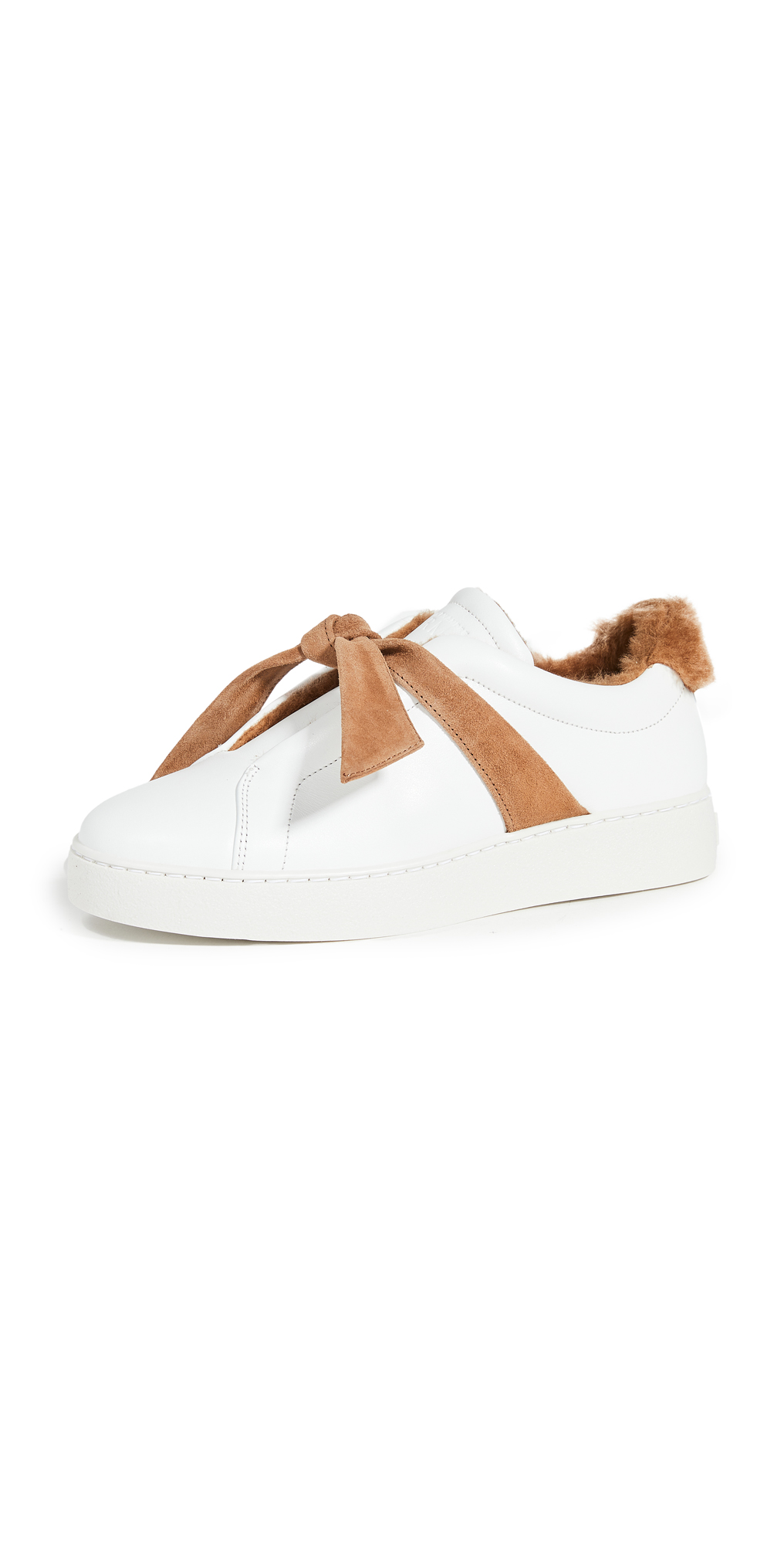 Alexandre Birman Clarita Shearling Sneakers