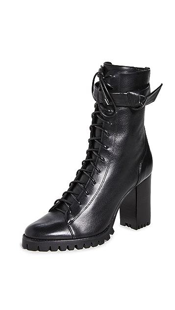 Alexandre Birman 85mm Evelyn Snow 短靴