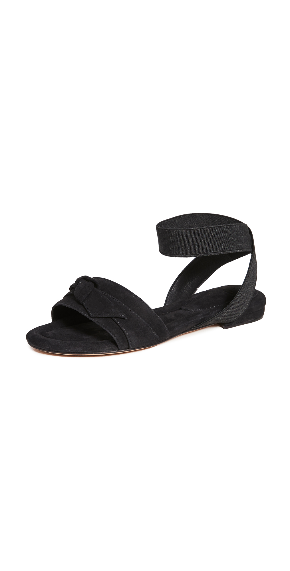Alexandre Birman Clarita Elastic Flat Sandals