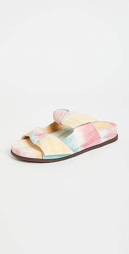 Alexandre Birman - Clarita Tie Dye Slides