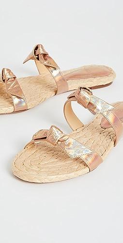 Alexandre Birman - Clarita Braided Flat Sandals