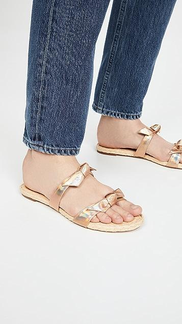 Alexandre Birman Clarita 编织平底凉鞋