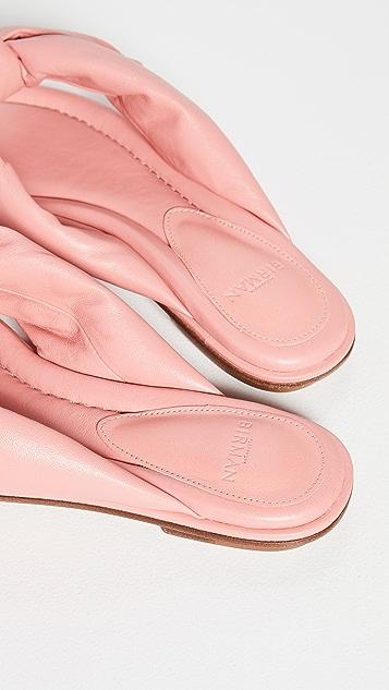 Alexandre Birman Soft Clarita Flat Sandals