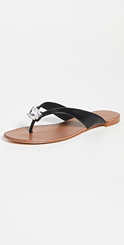 Alexandre Birman - Antonia Crystal Flat Sandals